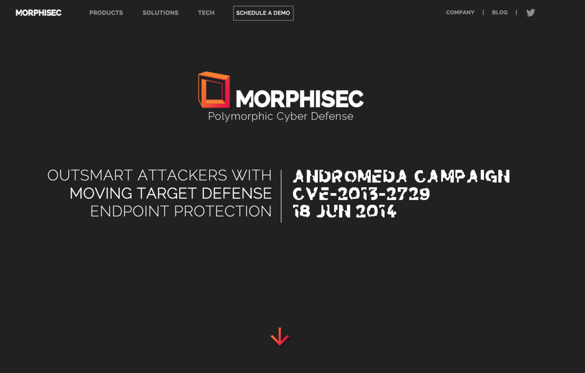 Morphisec Website is Alive