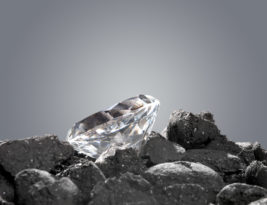 The Not So Peculiar Case of A Diamond in The Rough